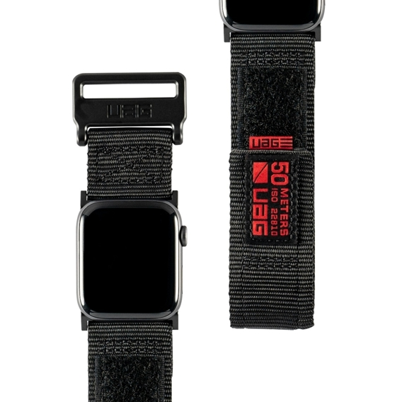 UAG do Apple Watch 1/2/3/5/4 42/44MM - Active Strap Pasek - Black