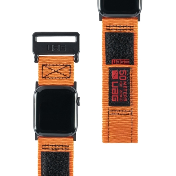 UAG do Apple Watch 1/2/3/5/4 42/44MM - Active Strap Pasek - Orange