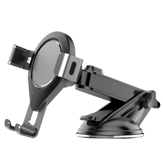 Uchwyt ERBORD Gravity Telescopic Car Phone Mount - black/grey